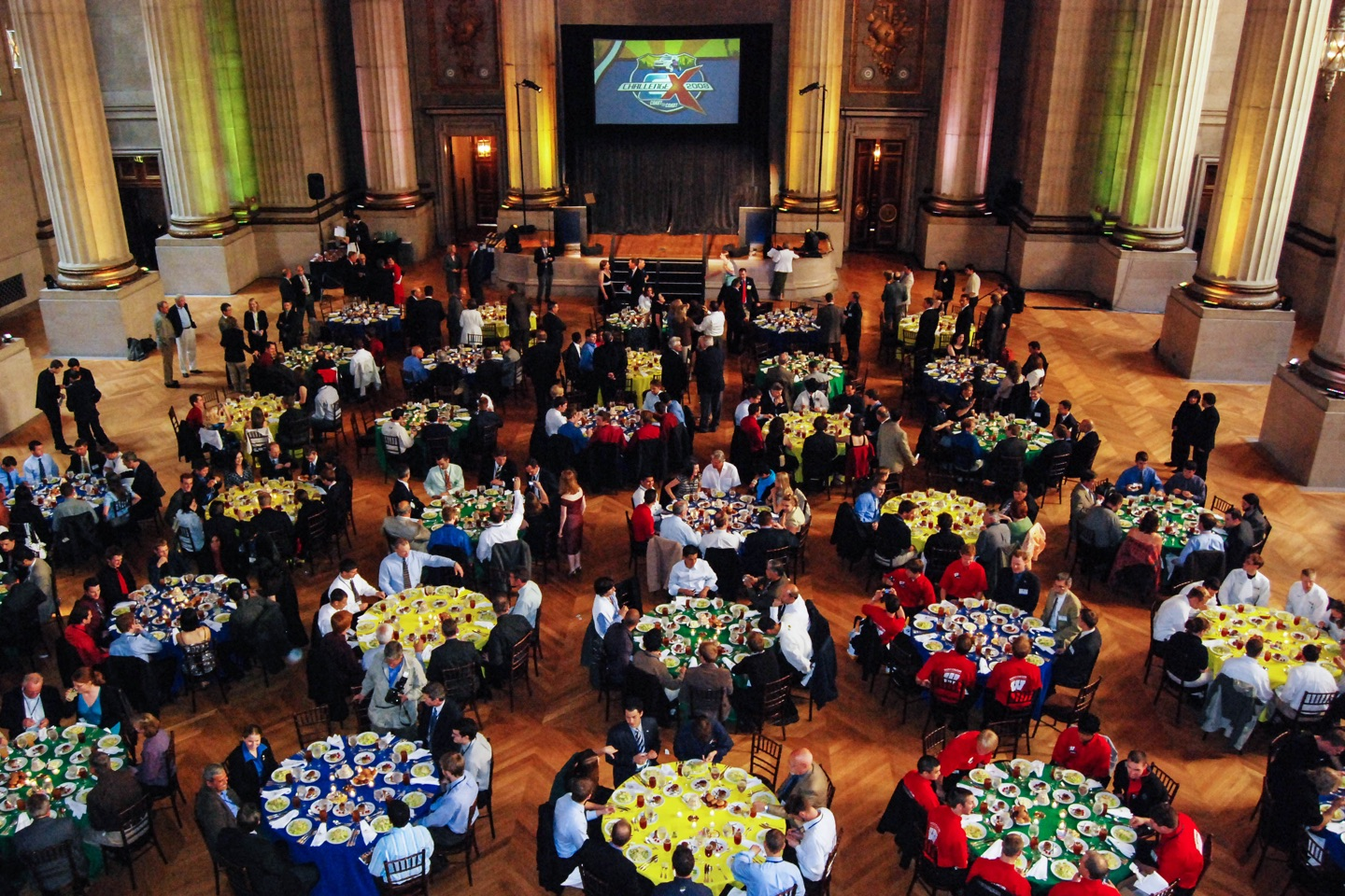 Challenge X competition at Andrew Mellon Theater in Washington D.C.