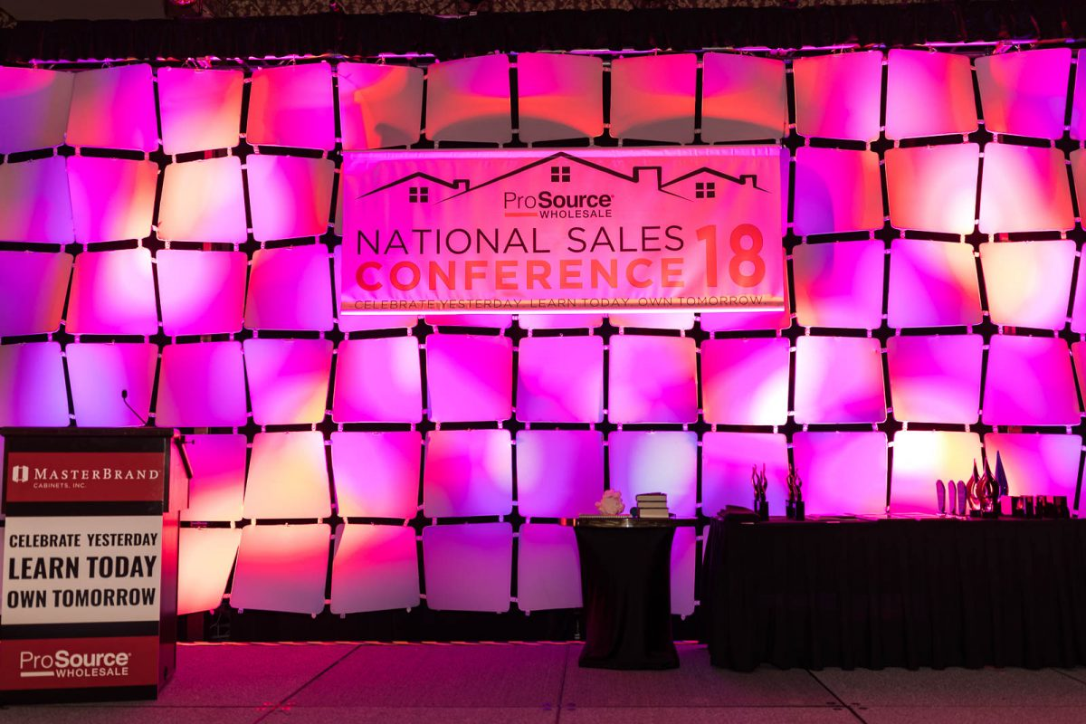2018 ProSource National Sales Conference AV St. Charles