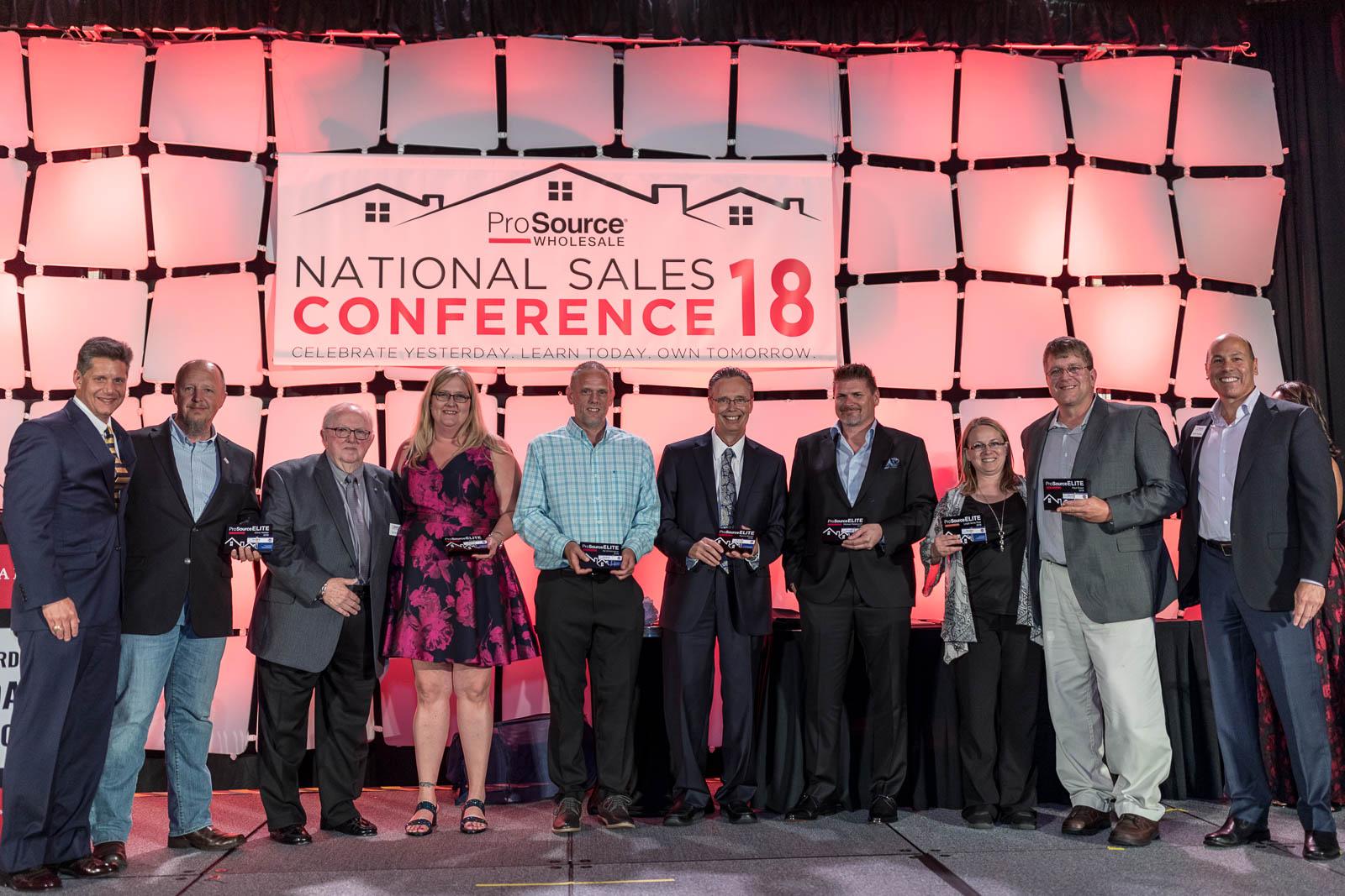 2018 ProSource National Sales Conference AV St. Charles