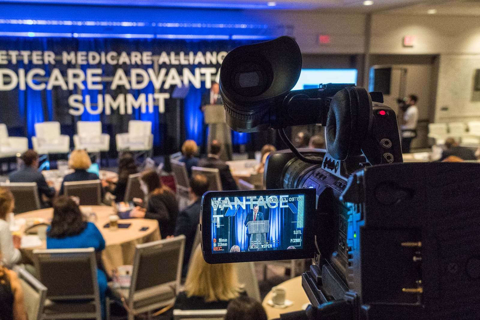 Medicare Advantage Summit 2019 event AV